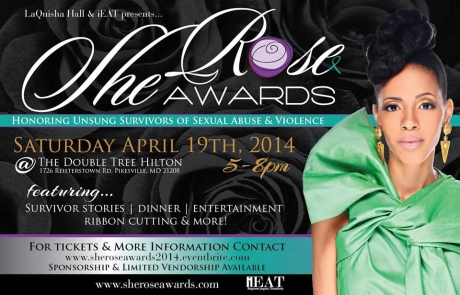 SheRose Awards 2014